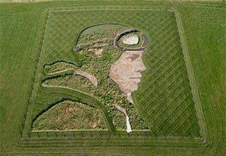Amelia Earhart Earthwork