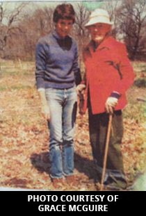 Grace Mcguire with Grace Muriel Earhart